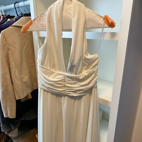Size 8 White Dress White House Black Market